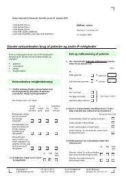 Spørgeskema Handel med IP-rettigheder 2007 - Danmarks Statistik