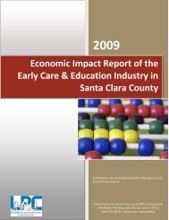 Economic Impact Report of the Early Care ... - Plan4Preschool