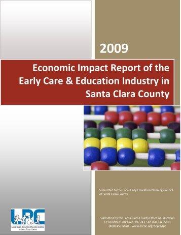Economic Impact Report of the Early Care ... - Plan4Preschool