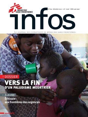 MSF Infos - Décembre 2012 - Médecins Sans Frontières