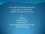 New Vessel Considerations - CCFI