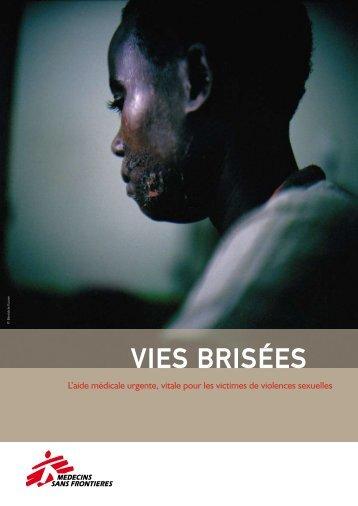 Télécharger le rapport Vies brisées - Médecins Sans Frontières
