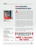 Le choix de la clandestinité en Syrie - Médecins Sans Frontières - Page 2