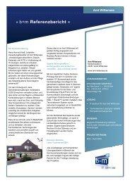 b+m Referenzbericht - L & M Business IT Management