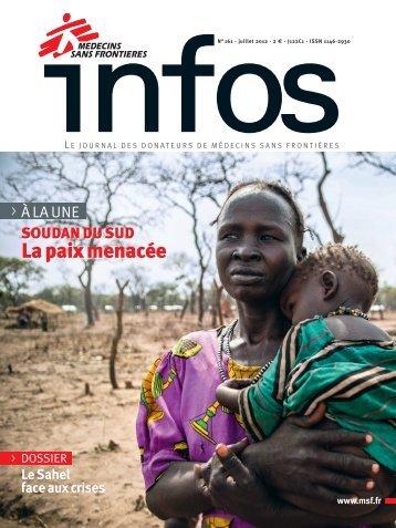 MSF Infos - Juillet 2012 - Médecins Sans Frontières