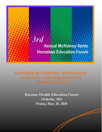 3rd Annual McKinney-Vento Homeless Education Forum