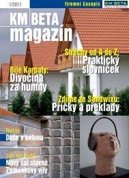 magazín ke stažení ve formátu PDF - KM Beta