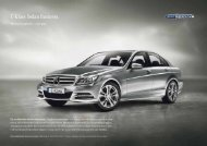 c-Klass Sedan Business. - Mercedes-Benz