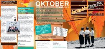 Oktober 2011 - Kreativfabrik