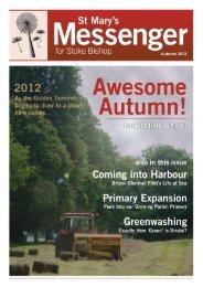 St Mary's Messenger - Autumn 2012