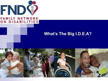 Evaluation - The Family Network on Disabilities of Florida