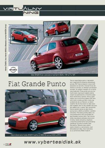 Fiat Grande Punto - AutoTuning.sk