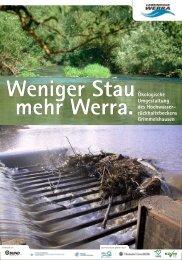 Weniger Stau mehr Werra. Ökologische Umgestaltung ... - FGG Weser