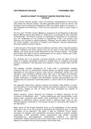 Summary of the ATTACK Project - Klinik I für Innere Medizin der ...