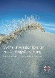 Svenska Missionskyrkan Församlingsförsäkring