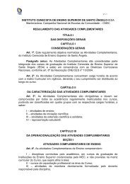 Atividades complementares - IESA Santo Ângelo
