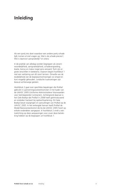 Brochure Over schade en zo - ProRail