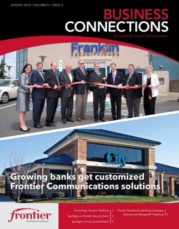 BUSINESS CONNECTIONS - Frontier