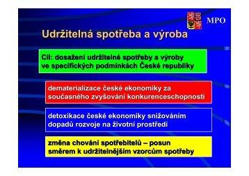 USV v prostředí ČR a možnosti financování