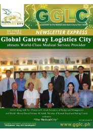 Inside This Issue - Global Gateway Logistics City