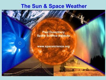 The Sun & Space Weather - Space Weather Center