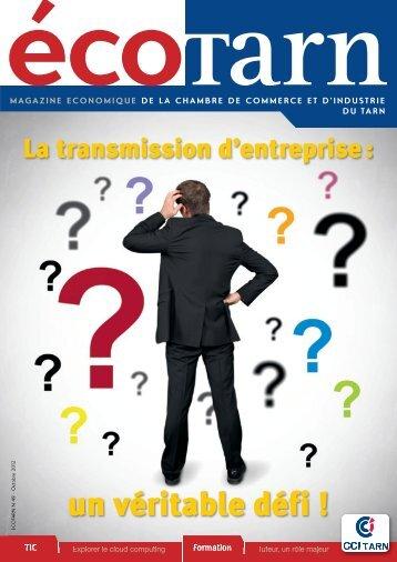 Consultez l'Ecotarn 49 - La Chambre de Commerce et d'Industrie du ...