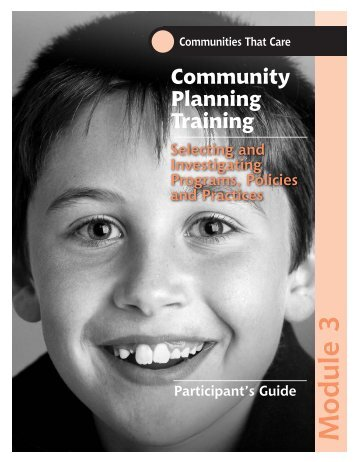CPT Participation Guide Module 3 - Social Development Research ...