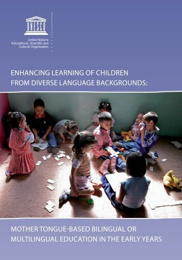 Enhancing learning of children from diverse language ... - strato