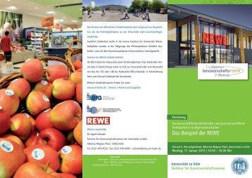 Das Beispiel der REWE - Verein zur Förderung der ...