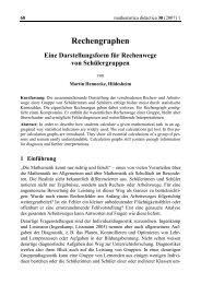 Rechengraphen - mathematica didactica