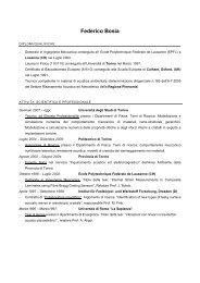 Federico Bosia - Fisica Sperimentale - Università degli Studi di Torino