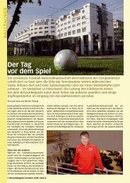 Der Tag vor dem Spiel - Birseck Magazin