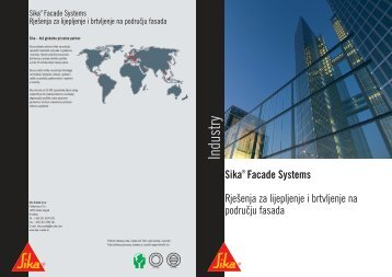 Sika Facade Systems - Gradimo