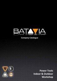 Power Tools Indoor & Outdoor Workshop - Batavia GmbH