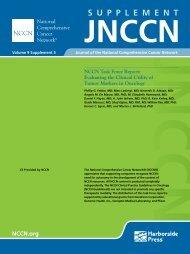 Task Force Supplement - National Comprehensive Cancer Network