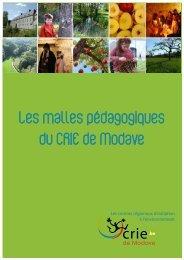 Les malles pédagogiques du CRIE de Modave - natagora.org