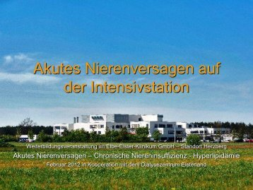 Dr. Encke: Akutes Nierenversagen auf der Intensivstation - Blnp.de