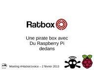 Une pirate box avec Du Raspberry Pi dedans - Virtualabs.fr