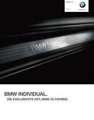 BMW Individual Katalog (PDF, 4,62 MB)