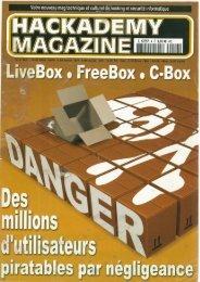Télécharger le PDF - HZV / Hackerzvoice / The Hackademy