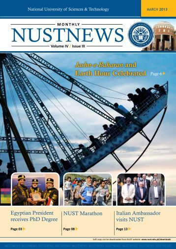 NUSTNEWS March-2013 - National University of Science and ...