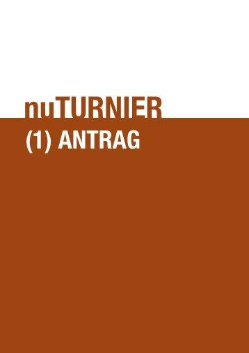 (1) TURNIER-aNTRag