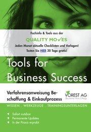 Jeden Monat aktuelle Checklisten und Vorlagen! - Vorest AG