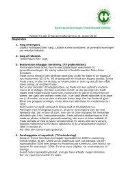 Referat fra den årlige generalforsamling 12. januar 2010 Dagsorden ...