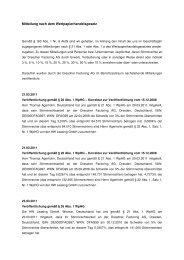 Stimmrechtsmitteilungen 2011 - Dresdner Factoring AG
