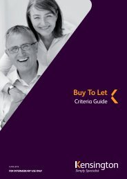 Buy to Let criteria guide - Legal & General
