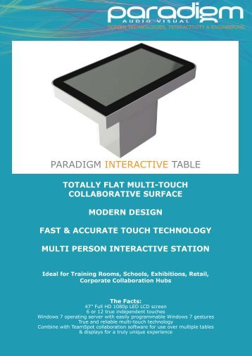 Paradigm Interactive Table Brochure.ai
