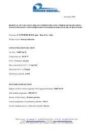 Riconcentration Baia - Ventilazione Industriale