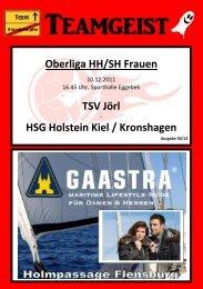 Oberliga HH/SH Saison 2011/12 Kader der 1. Frauen des TSV Jörl
