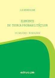 Elemente de teoria probabilitatilor cu aplicatii in biologie - PIM Copy